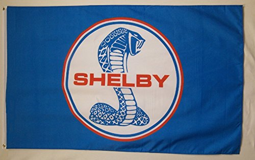 Ford Shelby Mustang Car Flag 3' x 5' Indoor Outdoor Deluxe Auto Banner