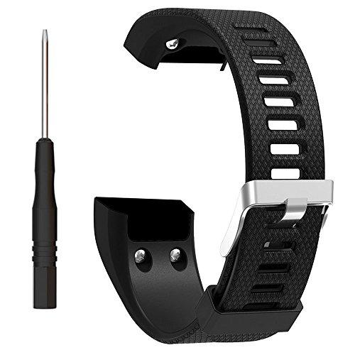 ZSZCXD Band for Garmin vivosmart HR+, Silicone Strap Replacement Wristband for Garmin vivosmart HR+ (No Tracker)