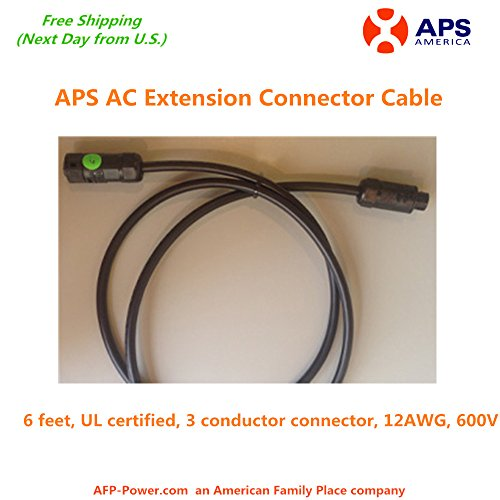 - APS AC Termination Extension Cable for APS YC500A Microinverter - next day free shipping from U.S.
