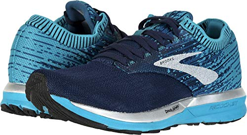 Brooks Women's Ricochet Navy/Blue/White 8.5 B US