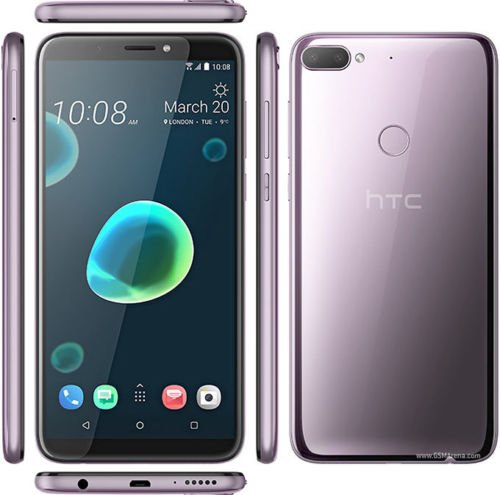 HTC Desire 12+(PLUS) 32GB Dual SIM Factory Unlocked GSM International Version No Warranty - Warm Silver (Purple)