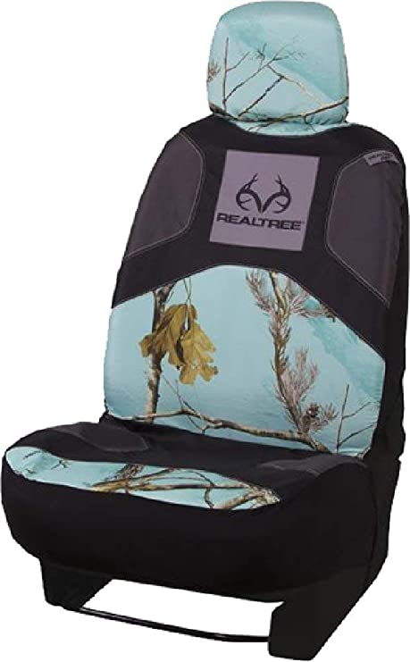 Amazon Com Realtree Camo Seat Cover Low Back Ap Cool Mint