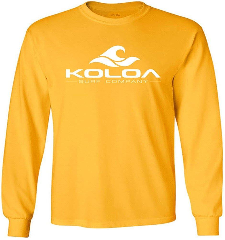 Joe's USA Koloa Surf Classic Wave Youth Long Sleeve Heavyweight Cotton T-Shirts USALWAVE82214704