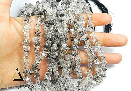- 1 Strand Natural Herkimar Diamond Loose Beads Strand, 4-6mm Faceted Rondelle Herkimar Diamond Beads, Herkimar Diamond Beads Necklace, Jewelry Making Herkimar Diamond Beads, Knotted Diamond Necklace
