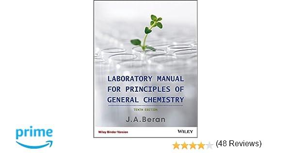 Laboratory Manual for Principles of General Chemistry: Jo Allan ...