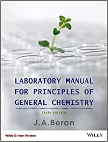 Laboratory manual for principles of general chemistry jo allan laboratory manual for principles of general chemistry jo allan beran 9781118422816 amazon books fandeluxe Gallery