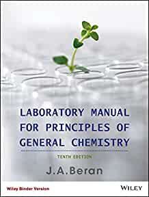laboratory manual for principles of general chemistry jo allan rh amazon com General Chemistry Lab Experiments Answers Chemical Lab