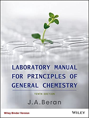 laboratory manual for principles of general chemistry jo allan rh amazon com General Chemistry Lab Experiments Answers General Chemistry Lab Experiments Answers