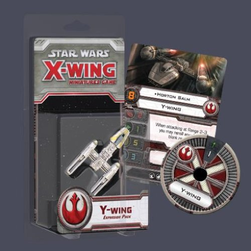Miniatures Wars Star Rules - Star Wars X-Wing: Y-Wing Expansion Pack