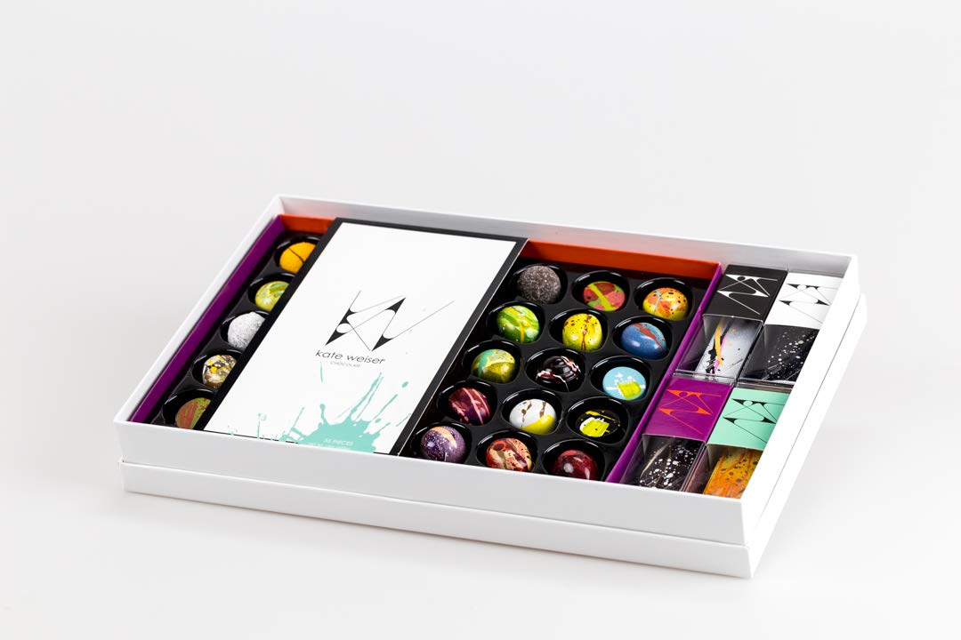 Kate Weiser Chocolate VIP Box: Amazon.com: Grocery & Gourmet ...
