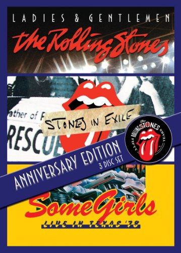 - 50th Anniversary Collectors Edition - Ladies & Gentlemen / Stones In Exile / Some Girls: Live In Texas 3DVD