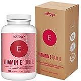 (120 Softgels) Natural Vitamin E Capsules 1000 IU ...