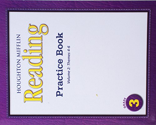 Medallions, Practice Book Consumable Level 3: Houghton Mifflin Medallions California: 2