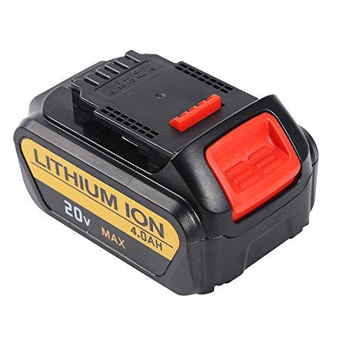 DeroTeno 18V 20 V Max 4.0 Ah Max Premium XR Li-ion Batterie pour outils DEWALT DCB200