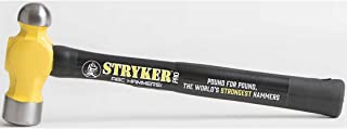 "product image for ABC Hammers StrykerPro PRO3214BP 32 oz. Steel Ball Pein Hammer with 14"" Steel Reinforced Rubber Handle"
