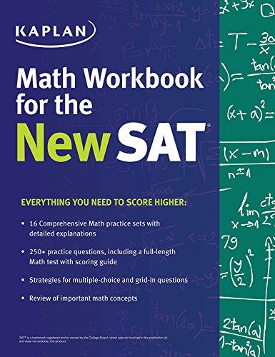 Kaplan Math Workbook Test Prep ebook product image