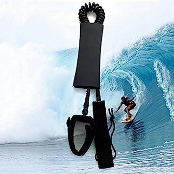 Wuudi Tabla de Surf para Tabla de pies, Correa, 7 mm, Protección de