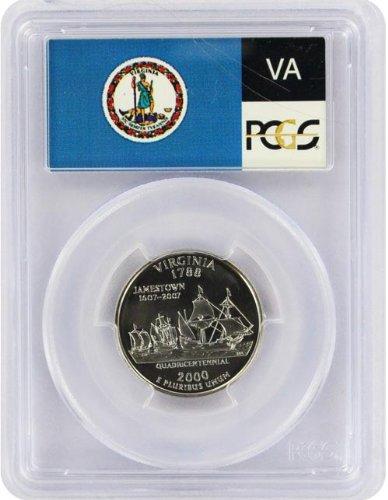 2000 Virginia State S Clad Proof Quarter PR-69 PCGS
