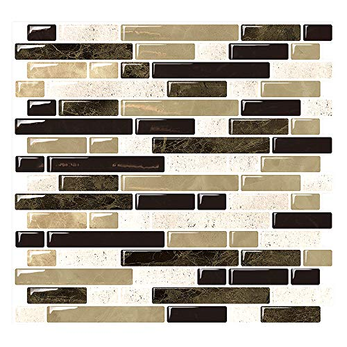 Yipscazo Yipscazo Peel and Stick Anti-Mold Wall Tile,Self-Adhesive Kitchen Backsplash in Beige (1 Tile) price tips cheap