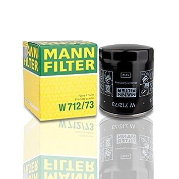 Mann Filtro de aceite W712/73 Ford Focus B4Y 5Y Mazda 3 6 MPV MX5: Amazon.es: Coche y moto