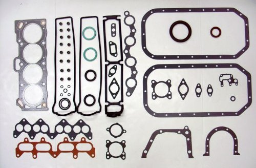 88-91 Toyota Corolla GTS FW 4AGE/4AGEC/4AGELC/4AGZE 1.6L 1587cc L4 16V DOHC Engine Full Gasket Replacement Kit Set FelPro: HS9383PT-1/CS9386 (Toyota 4age Engine compare prices)