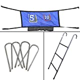 Skywalker Trampolines Accessory Game Kit with Ladder (47-Inch)