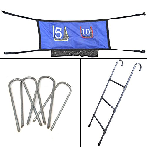 Skywalker Trampolines Accessory Game Kit with Ladder (47-Inch) ()