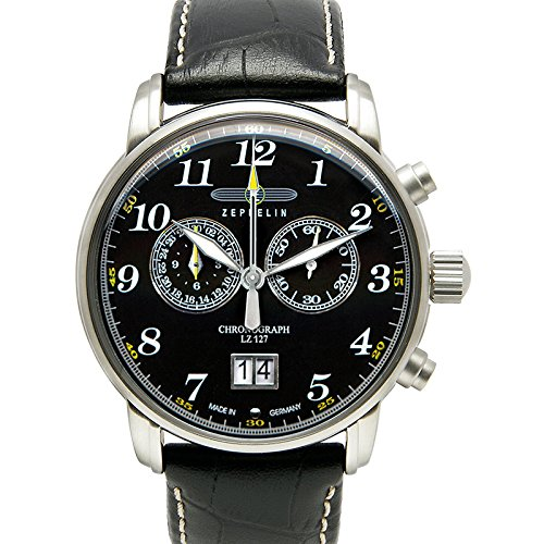 Graf Zeppelin Chronograph Big Date Watch 7686-2