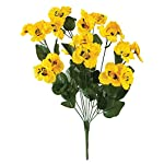 All-Weather-Yellow-Pansy-Bush-by-OakRidgeTM
