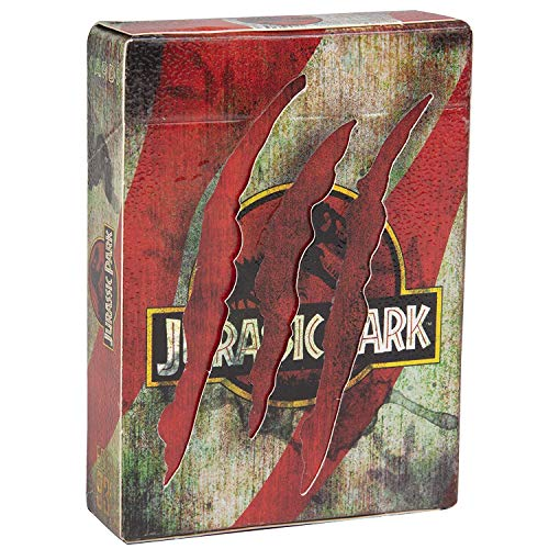 Ellusionist Jurassic Park Playing Card Deck - Officially Licensed Movie Playing Cards (Cards Playing Movie)