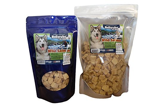 GORAUL Bellyrubs All Natural Freeze Dried Salmon Treats, Made in The USA (12 Ounce) For Sale
