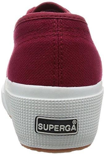 Superga 2905 Cotw Linea Ud - Zapatillas de deporte de lona para mujer Scarlet