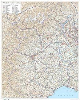 Cartina Stradale Valle D Aosta.Amazon It Piemonte Valle D Aosta Carta Stradale Della Regione 1 250 000 Carta Murale Plastificata Stesa Con Aste Cm 86 X 108 Cm Libri