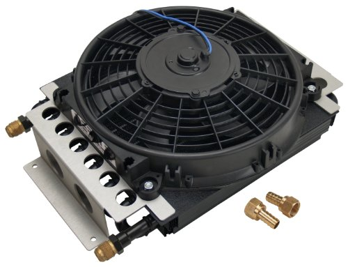 Derale 15800 Electra-Cool Remote Cooler (Transmission Cooling Fan)
