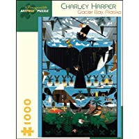 Charley Harper Glacier Bay  Alaska 1 000-Piece Jigsaw Puzzle Aa639