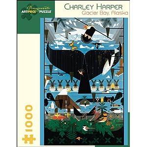 Charley Harper Glacier Bay Alaska 1000 Piece Puzzle Inglese Giocattolo 15 Gen 2010