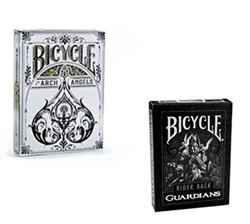 Bicycle Playing Card Bundle - Guardians & Archangels Playing Cards