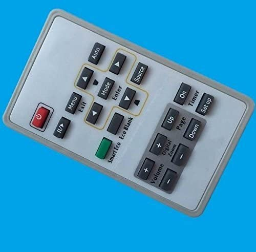 Premium Quality Generic Universal Compatible Replacement Projector Remote Control Fit For BENQ Projector MP776ST MP772ST MP777 SP920P SP890 TX501 MS500 MS500H MS513P MX514P 1 Year Warranty