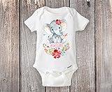 Personalized Elephant Onesie® Custom Elephant Themed Baby Shower Gift