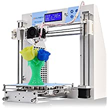 JGAURORA 3d Printer A3kit Prusa i3 DIY 3d Printers Self Assembly Metal Frame LCD Display Heated bed