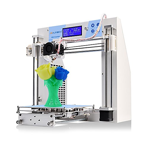 JGAURORA 3d Printer Prusa i3 DIY 3d Printers kit Self Assembly Metal Frame LCD Display ABS PLA filament 1.75mm