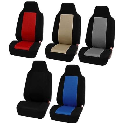 Welltobuy 1PCS Universal Car Seat Covers waterproof Auto Seat Covers car seat covers front pair for Cars