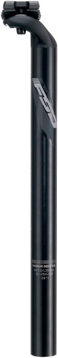 FSA Energy SB20 Seatpost 27.2 x 350mm Gray Graphic  Black