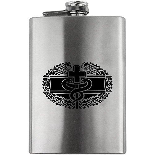 Combat Medical Badge Army Veteran 8oz. Flask