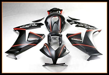 ... completo de embellecedores carrocería con calor Shield parabrisas para 2012 2013 2014 2015 2016 Honda CBR1000RR mate negro: Amazon.es: Coche y moto