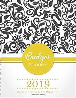 budget planner 2019 expense tracker bill organizer monthly