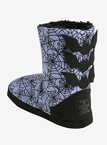 Nachtmerrie Voor Kerstmis De Paarse Spinnenweb Slipper Boots