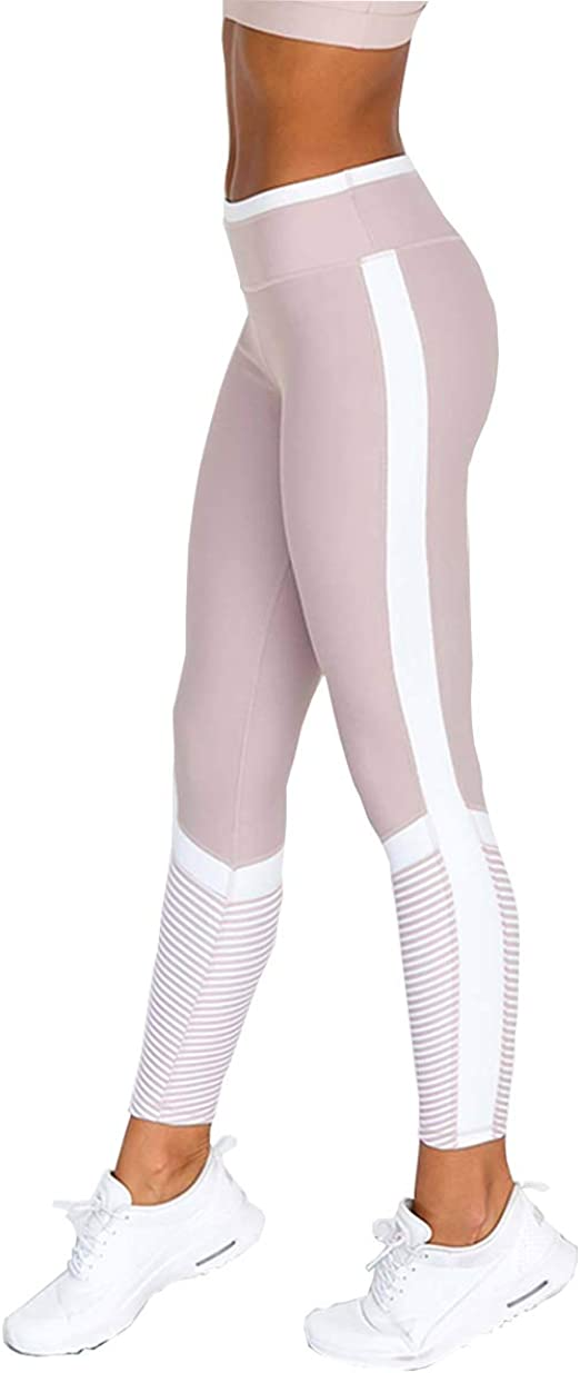 Hanwe Womens Bra Yoga Pants Workout Running Bras Gym Yoga Leggings High Waist Butt Lifting Pant