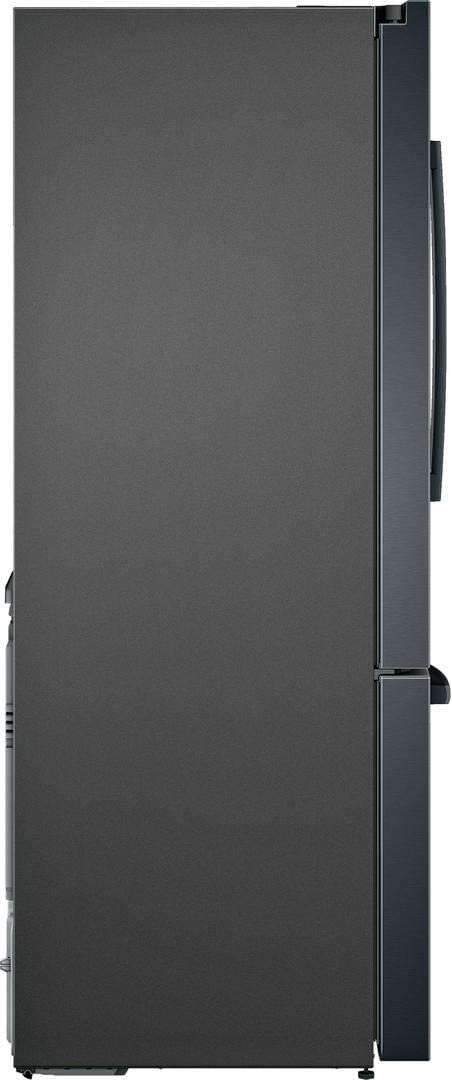 FarmFresh System Capacity VitaFreshPro Black Stainless Steel Bosch B36CT80SNB 36 800 Series French Door Refrigerator with 20.8 cu ft LED Lighting and MultiAirFlow