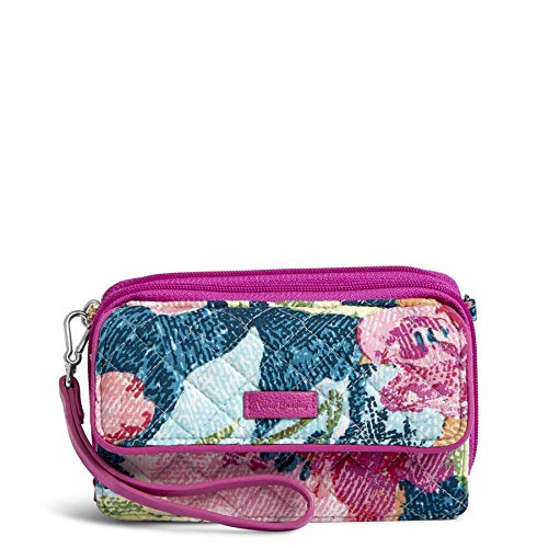 Vera Bradley Iconic RFID All in One Crossbody, Signature Cotton, Superbloom, Superbloom, One Size